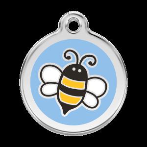 Médaille à graver - Bumble Bee - Taille L - Ref. Red Dingo : 01-EL-LB-LG