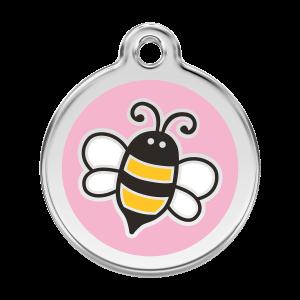 Médaille à graver - Bumble Bee - Taille L - Ref. Red Dingo : 01-EP-PK-LG