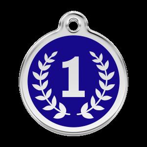 Médaille à graver pour chiens et chats Red Dingo - Gagnant - Taille L - Ref. Red Dingo : 01-WI-DB-LG