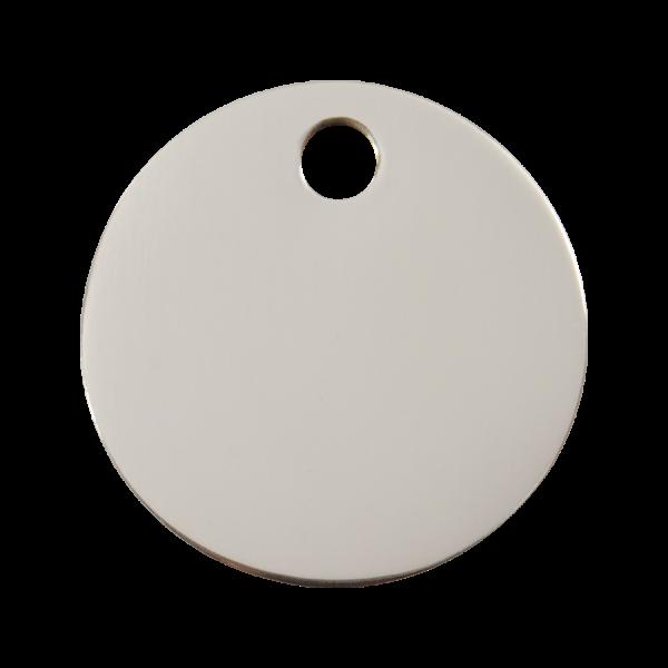 Médaille à graver pour chiens et chats Red Dingo - Cercle - Taille L - Ref. Red Dingo : 02-CL-ZZ-LG
