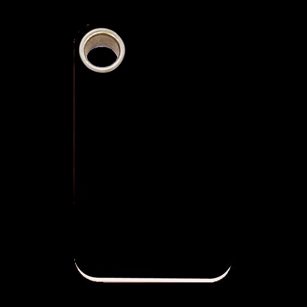Médaille à graver pour chiens et chats Red Dingo - Rectangle - Noir - Taille L - Ref. Red Dingo : 04-RT-BB-LG