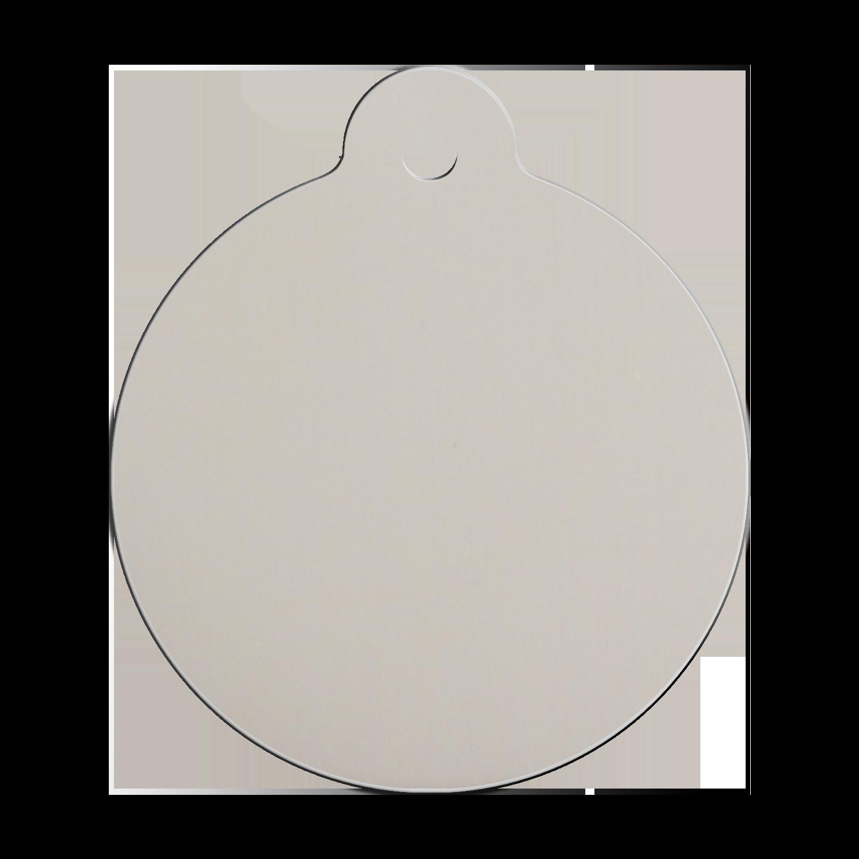 Médaille Red Dingo - Code Design : 0XLG - Face arrière