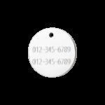 médaille pour chien personnalisée à graver de la marque Red Dingo